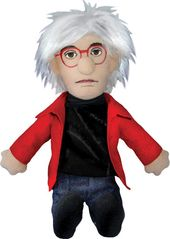Andy Warhol - Little Thinker Plush Doll