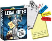 Sticky Notes - Legal Notes