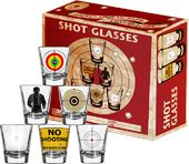 Target Practice - 6-Piece Shot Glass Set