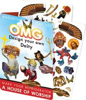 OMG! Design Your Own Deity Magnetic Play Set