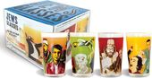 Funny - Famous Jews Glasses - 4-Piece 12 oz.