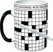 Crossword Puzzle 14 oz. Mug