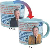 Mister Rogers - Heat Changing Mug