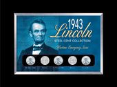 Coins: 1943 Lincoln Steel Penny Collection