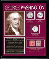 Washington Framed Tribute Collection