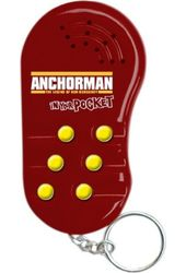 Anchorman - In Your Pocket - Talking Key Chain