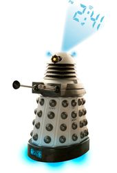 Doctor Who - Dalek - Projector Alarm Clock