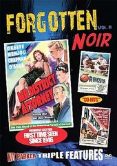 Forgotten Noir, Volume 8: Mr. District Attorney /