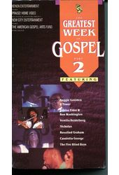 Greatest Week In Gospel 2