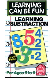 Learning Subtractions