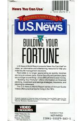 U.S. News: Building Your Fortune