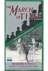 The March of Time: The Great Depression (5-VHS)