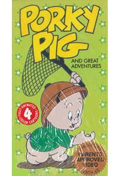 Porky Pig and Great Adventures (4 Cartoons)