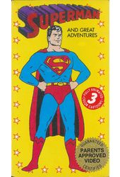 Superman and Great Adventures (3 Cartoons)