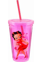 Betty Boop - 18 oz Acrylic Travel Cup