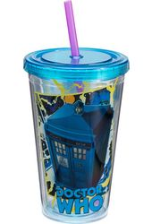 Doctor Who - 18 oz. Acrylic Travel Cup