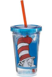 Dr. Seuss - The Cat In The Hat - 12 oz. Plastic