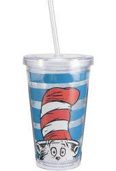 Dr. Seuss - The Cat In The Hat - 18 oz. Plastic