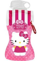 Hello Kitty - 12 oz. Pink Collapsible Water Bottle