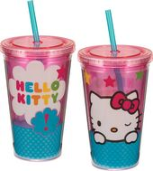 Hello Kitty - Stars - 18 oz. Plastic Cold Cup