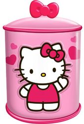 Hello Kitty - Cupcake - Ceramic Cylinder Cookie