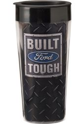 Ford - Built Tough - 16 oz. Plastic Travel Mug