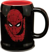 Marvel Comics - Spiderman - 20 oz. Black Ceramic