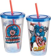 Marvel Comics - Captain America 18 oz. Acrylic