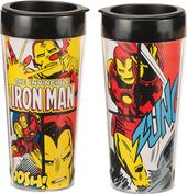 Marvel Comics - Iron Man 16 oz. Plastic Travel Mug