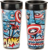 Marvel Comics - Captain America 16 oz. Plastic