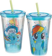 My Little Pony - Rainbow Dash 18 oz. Acrylic