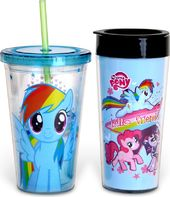 My Little Pony - 16 oz. Plastic Travel Mug &