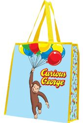 Curious George - Large Recycled Shopper Tote