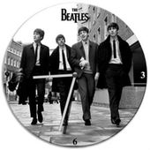 "The Beatles - Walking: 13.5"" Cordless Wood Wall"
