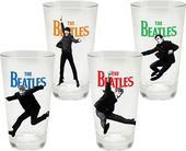 The Beatles - 4-Piece 16 oz. Glass Set