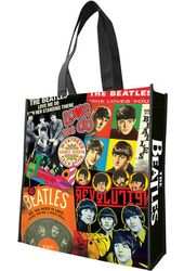 The Beatles - Albums: Large Recycled Shopper Tote