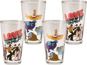 The Beatles - Yellow Submarine: 4-Piece 16 oz.