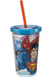 DC Comics - Superman - 12 oz. Plastic Cold Cup