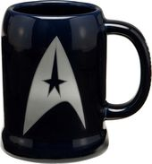 Star Trek - 20 oz. Blue Ceramic Stein