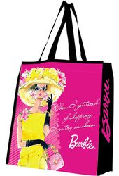 "Barbie - ""Shopping"" Large Recycled Shopper Tote"