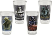 Star Wars - 4 Piece 16 oz. Glass Set