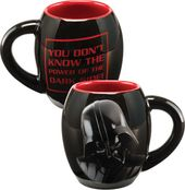 Star Wars - Darth Vader 18 oz. Black Oval Ceramic