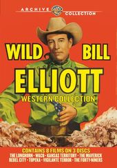 Wild Bill Elliott Western Collection: 8-Movies