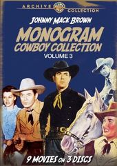 Monogram Cowboy Collection, Volume 3 (3-Disc)
