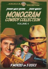 Monogram Cowboy Collection, Volume 4 (3-Disc)