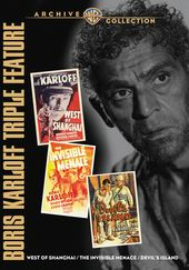 Boris Karloff Triple Feature (West of Shanghai /