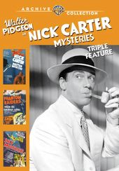 Nick Carter Mysteries Triple Feature