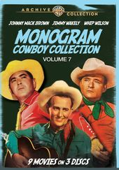 Monogram Cowboy Collection, Volume 7 (3-Disc)