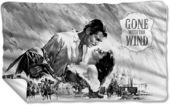 Gone With The Wind - Black & White Poster -