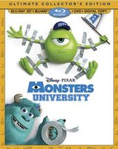 Monsters University 3D (Blu-ray + DVD)